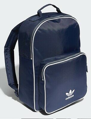 ADIDAS ORIGINALS BACKPACK CLASSIC COLLEGE NAVY WHITE -  40.00  81c49b8a6b6ec