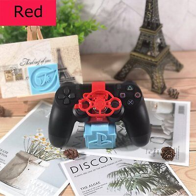 PC Racing Driving Mini Steering Wheel for PS3 PS4 Game Controller Pad Joypad RED