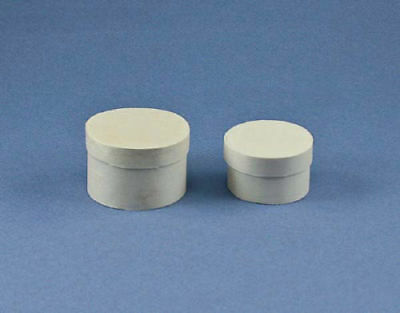 112 Scale Dollhouse Miniature Set Of 2 Round Hat Boxes With Lids