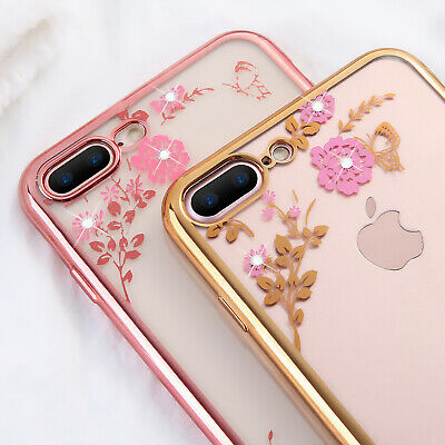 Luxury Ultra Slim Shockproof Clear Silicone Case Cover for apple iPhone Phones