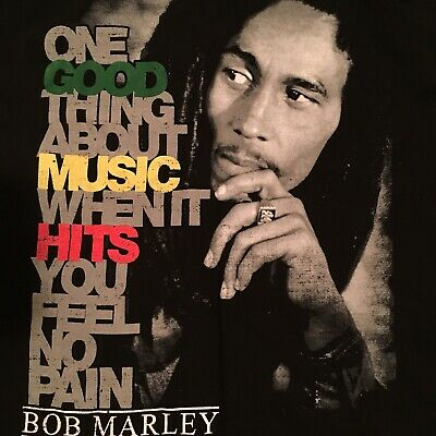 Vintage Bob Marley Graphic Tee Size Small