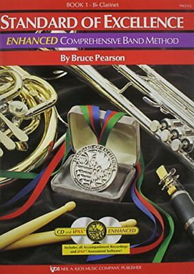 Standard Of Excellence: Enhanced Comprehensive Ba... by Bruce Pearson 0849707536