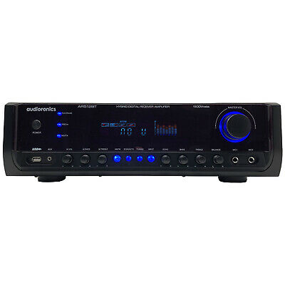 Audioronics Home Theater Bluetooth 1500W Amplifier Receiver Wireless Streaming