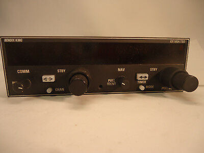 Bendix/King 069-01033-0101 KX-165A Nav/com With GS  - Used Avionics