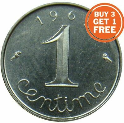1 French Centime 1959 To 2001 Choice Of Date