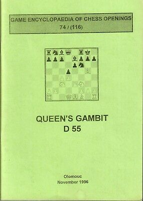 [SCARCE] GAME ENCYCLOPEDIA Of Chess Openings 74/(116) Queens Gambit D 55,  1996