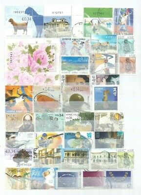Cyprus Stamps Collection Of Used All Different New