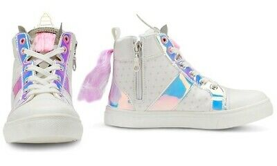 NEW Olivia Miller Girl s Unicorn Sneakers with Handbag - Multi - Size  11 8c3581c8d