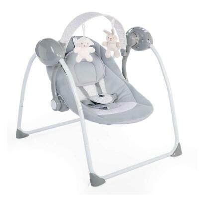 Chicco Relax & Play Baby Swing (Cool Grey) Automatic Swing Motion - RRP £69!
