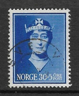 Norway - 1939 Queen Maud 30o SG 270 fine used. (see descrip)