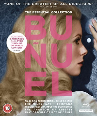 Essential Bunuel Collection Bd BLU-RAY NEW