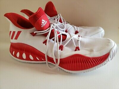 reputable site 3b012 92188 Adidas Crazy Explosive Low Boost Basketball Shoes Harden By3234 White Team  Sz 15