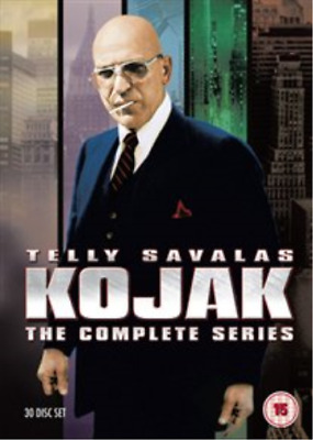 Mark Russell, Tige Andrews-Kojak: The Complete Series DVD NEW