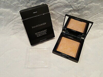 Bare Minerals-Invisible Glow Powder Highlighter - Medium - 0.24 Oz - NIB
