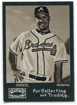 2009 Topps Heritage Mayo CJ Chipper Jones