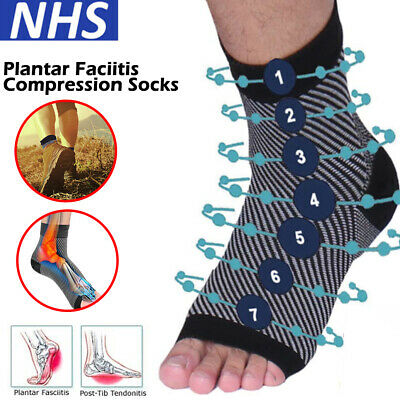 Plantar Fasciitis Compression Socks Foot Arch Support Heel Relief Splint Support
