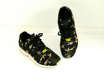 ADIDAS ZX FLUX Men's Sz 5Women's 7 Shoes Sneakers Animal Print Leopard Torsion