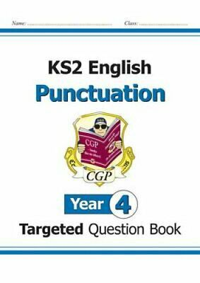 KS2 English Targeted Question Book: Punctuation - Year 4 by CGP Books...
