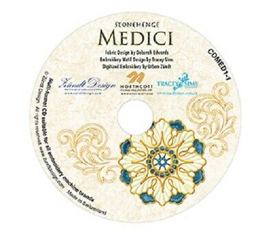 Medici Embroidery CD NEW by Ruth Powers of Innovations