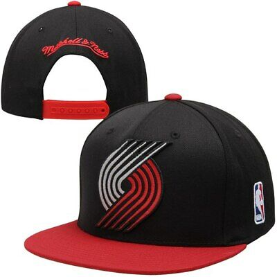 new style a7f0d 7c92f Mitchell   Ness Portland Trail Blazers XL Logo 2-Tone Snapback Adjustable  Hat -