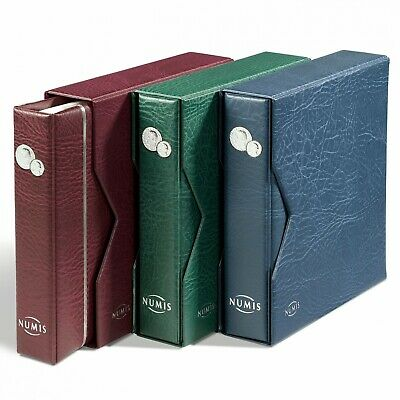 Coin Album Numis, Incl. Slipcase, With 5 Pocket Sheets 337964