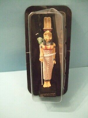 Ancient Egypt Egyptian God  figurines resin statue RENENOUTET  by HACHETTE