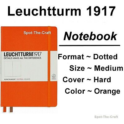Leuchtturm1917 Dotted Journal Notebook Medium A5 Orange 342937
