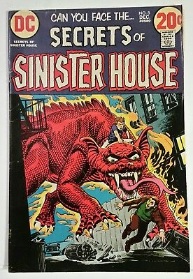 Secrets Of Sinister House # 8 - Dc Comics - December 1972