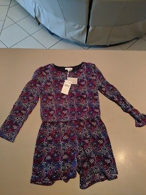 Pumpkin Patch Girls Button Front Playsuit - New With Tags
