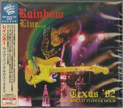 Rainbow-Live... Texas '82-Import Cd With Japan Obi F08