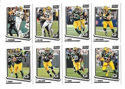 2018 Score Football Green Bay Packers Team Set (14) Rodgers df293b226