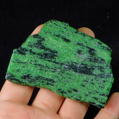 413Ct 100% Natural Red Green Bi Color Ruby In Zoisite Rough Specimen YGB115