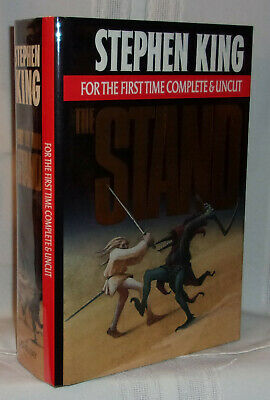 Stephen King THE STAND First Complete & Uncut edition 1990 A Superior copy in dj