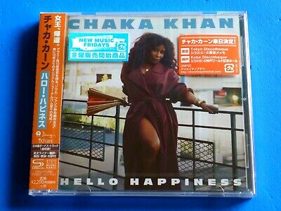 2019 JAPAN CHAKA KHAN HELLO HAPPINESS CD w/BONUS TRACK FOR JAPAN ONLY