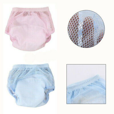 Washable Baby Baby Training Pants Nappy Breathable Diaper Pants Reusable 3 Color