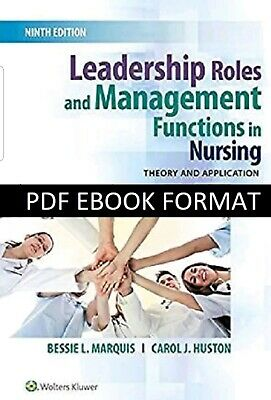 Leadership Roles and Management Functions in Nursing 9th Edition {PDF} **FAST**