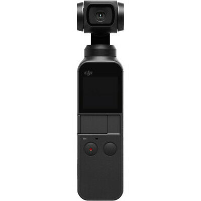 DJI Osmo Pocket Handheld 3-Axis Gimbal Stabilizer with Integrated Camera - Black