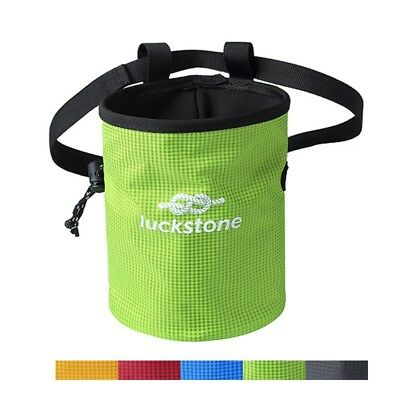 Rock Climbing Chalk Bag New Magnesium Powder Pouch Sport Drawstring Waist Bag