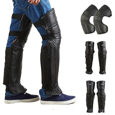 New Motorcycle Knee Pads Windproof Riding Leg Guard Electric Bike Warm Kneepads