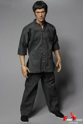 """1/4 Fire Toys A020 Way of the Dragon Tang Lung Bruce Lee 18"""" Action Figure"""