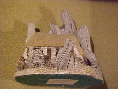 DAVID WINTER England Crofters Cottage 1986 Hand Painted Retired Scottish CB60