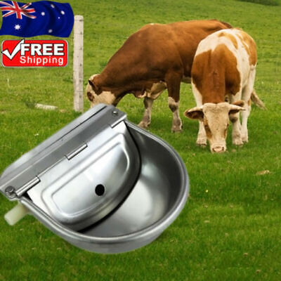 Automatic Cattle Cow Goat Sheep Horse Water Bowl Waterer Drinker VIC AU Stock