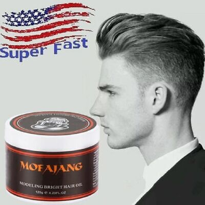 5f48de5b199 4.23Oz Strong Hold Firm Retro Pomade Wax Men Hair Fast Styling Modeling Oil  US