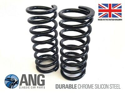 MG MIDGET 1500 FRONT SUSPENSION SILICON CHROME ROAD SPRINGS x 2 (CHA570)