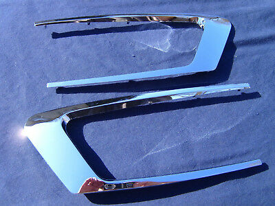 Yamaha Xs1 Xs1B Xs2 Tx650 New Chrome Side Cover Trim