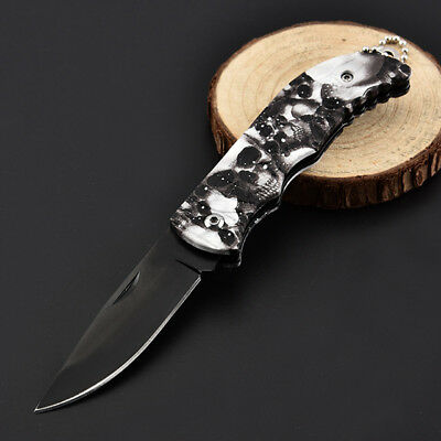 Mini Portable Key Edc Stainless Steel Survival Knife Fold Camping Folding Knive