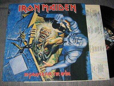LP: Iron Maiden - No prayer for the dying, 1990, 1,--