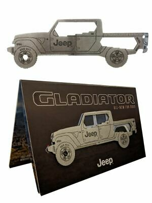 New Jeep Gladiator Multi-Tool and Brochure All New for 2020 Mopar Gladiator