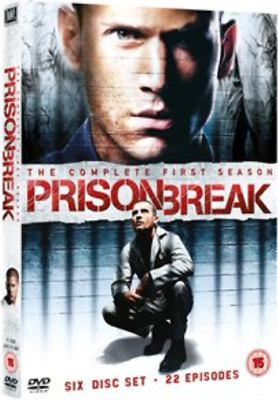 Dominic Purcell, Wentworth ...-Prison Break: Complete Season 1 DVD NEW