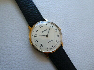 Beautiful Vintage Very rare GLASHUTTE Men's dress watch from the 1970's years!